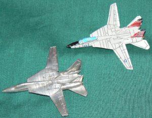 USA 121 F-14 Tomcat Top Left